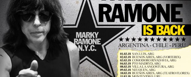 The Ramone is Back - March 2018 - Argentina - Chile - Peru