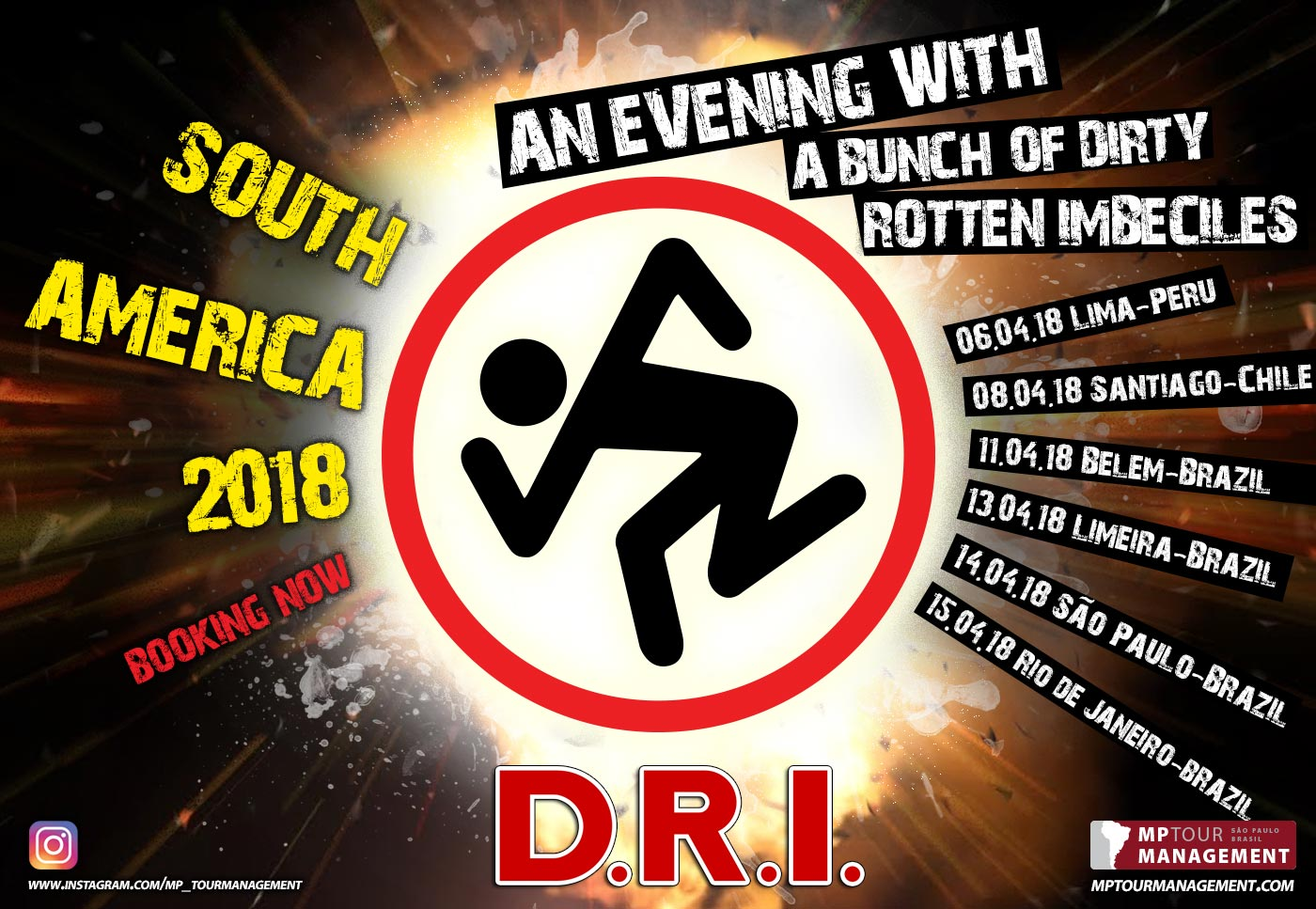 DRI South America March April 2018