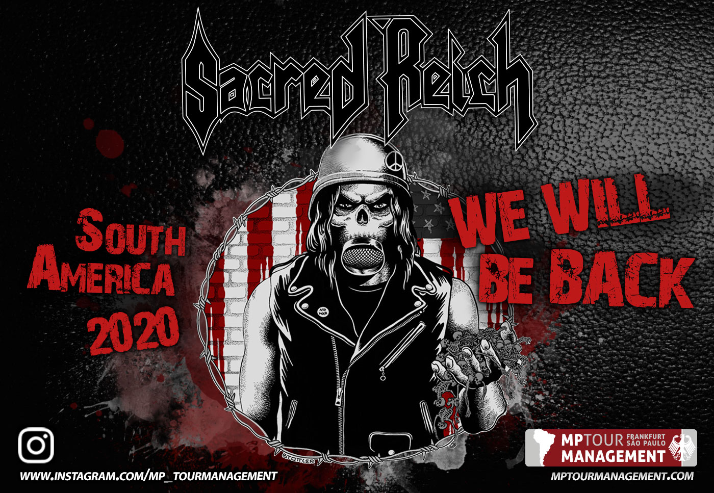 Sacred Reich - South America 2019