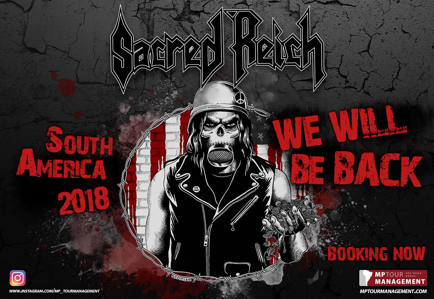 Sacred Reich - South America 2018