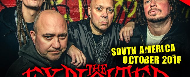 The Exploited - South America - Octuber 2018